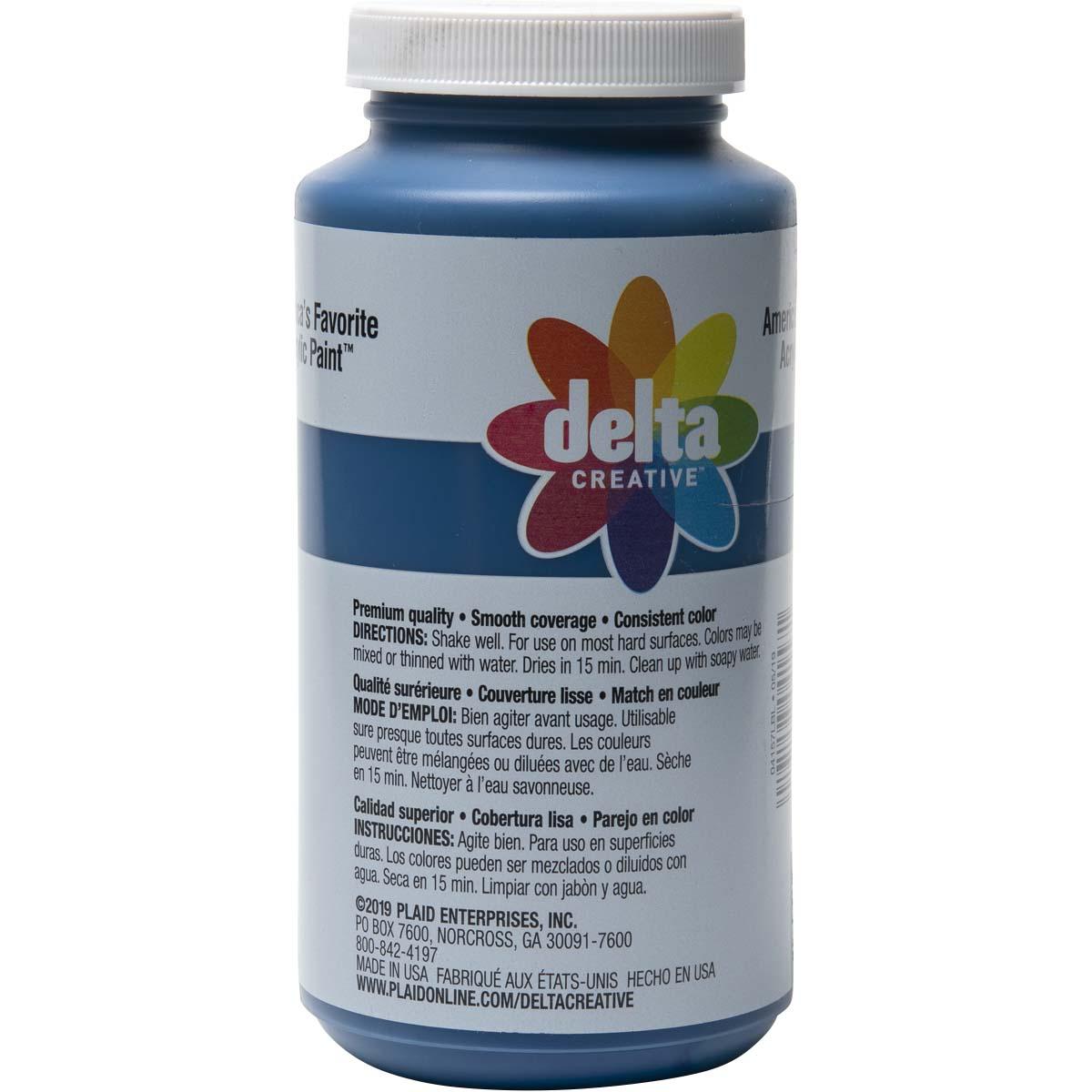 Delta Ceramcoat ® Acrylic Paint - Navy Blue, 16 oz. - 04157