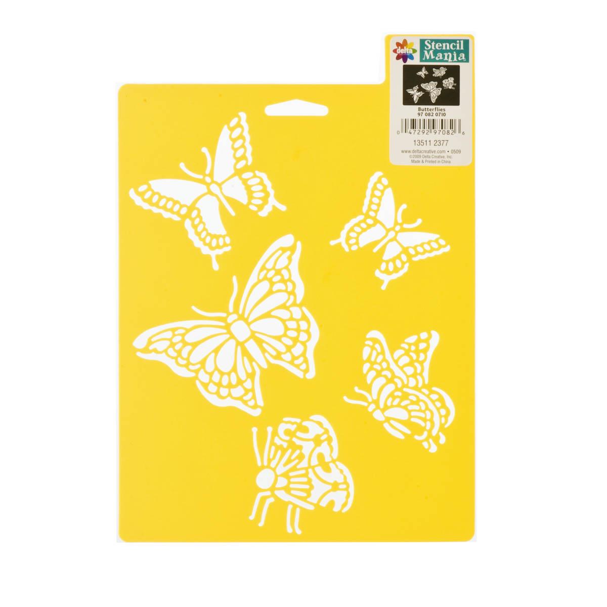 Delta Stencil Mania™ - Butterflies, 7