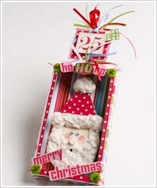 Candy Box Santa