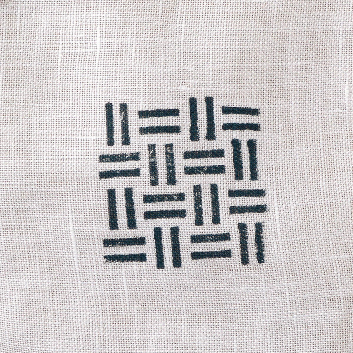 Fabric Creations™ Block Printing Stamps - Small - Basket Weave - 27193
