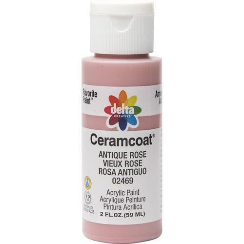 Delta Ceramcoat ® Acrylic Paint - Antique Rose, 2 oz.