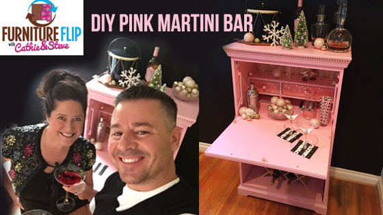 How to make a Pink Martini Bar
