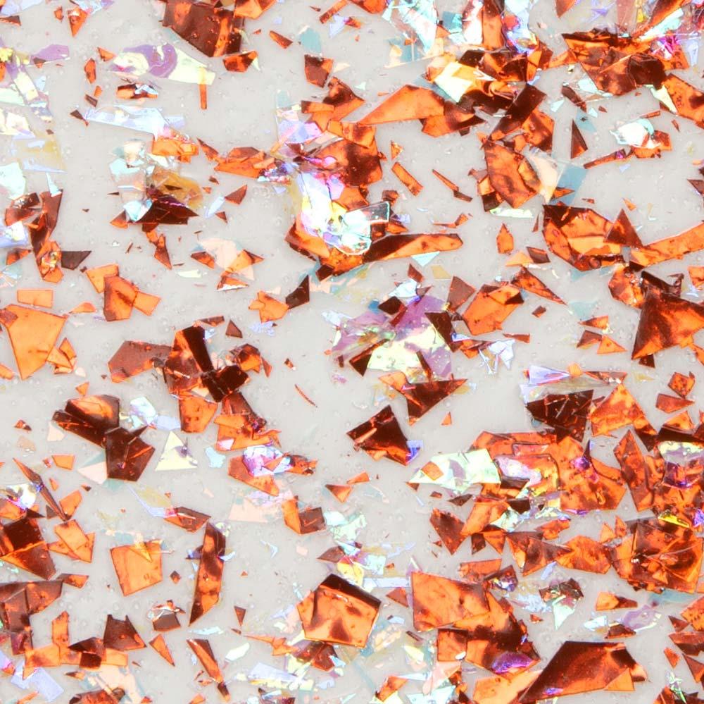 Martha Stewart ® Multi-Surface Vintage Leaf Glitter Acrylic Craft Paint CPSIA - Orange Sorbet, 2 oz.