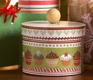 DIY Paper Mache Gift Box