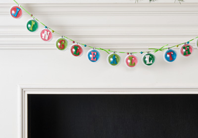Jingle All the Way Garland