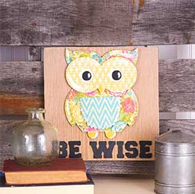 Paper Owl Craft