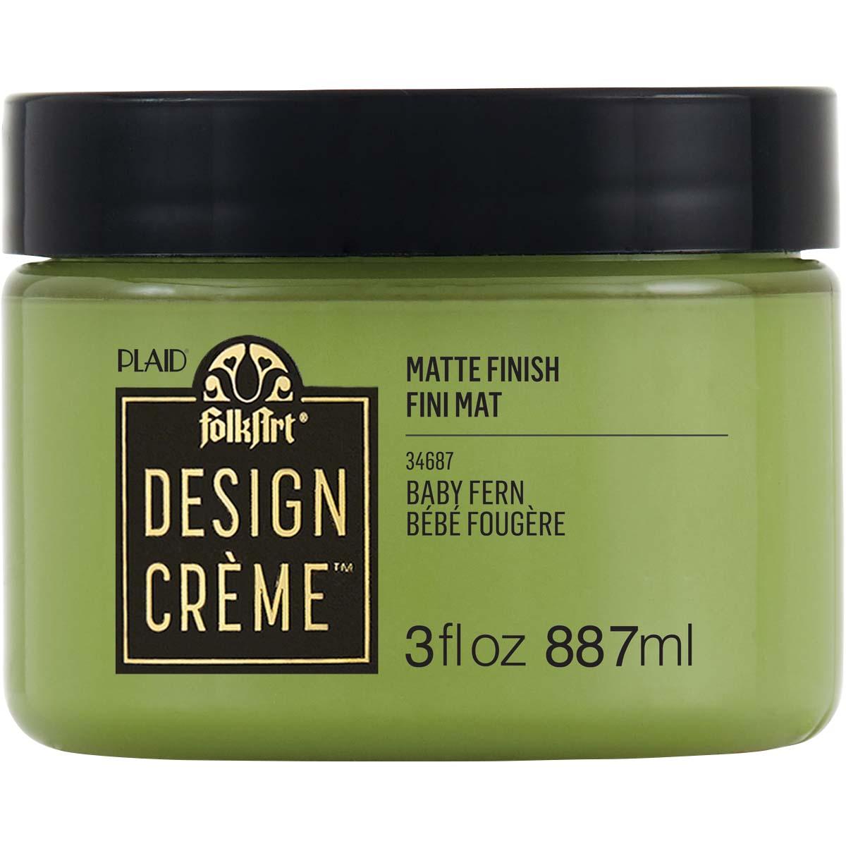 FolkArt ® Design Creme™ - Baby Fern, 3 oz. - 34687