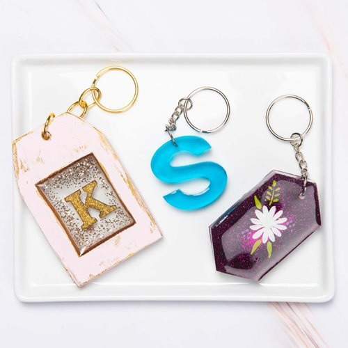 Resin Keychains