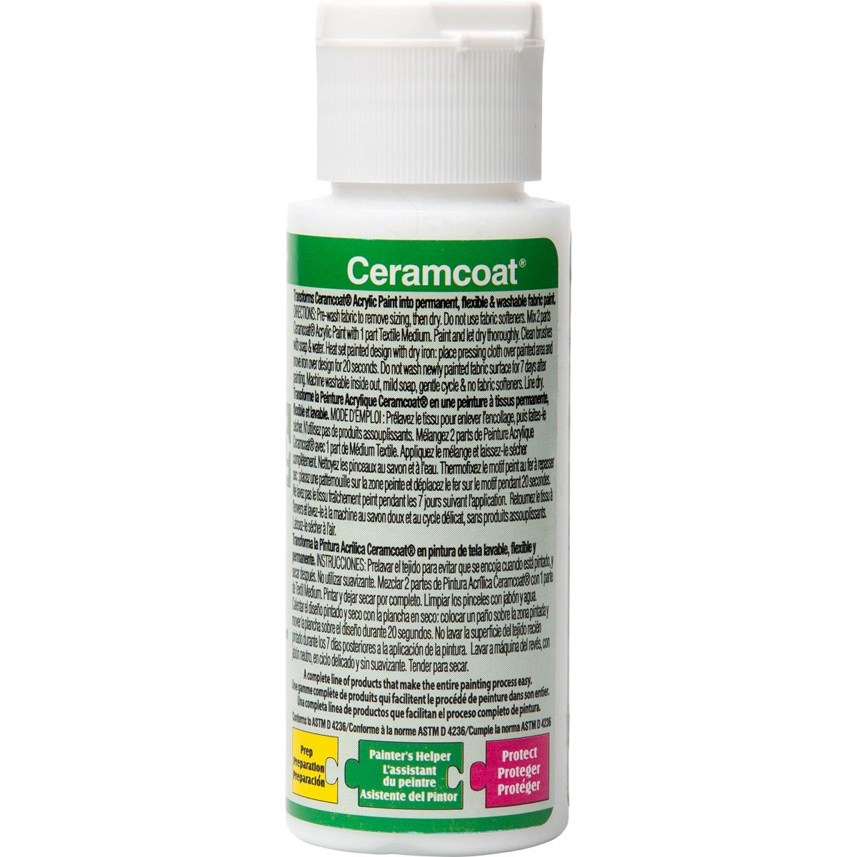 Delta Ceramcoat ® Mediums - Textile, 2 oz.