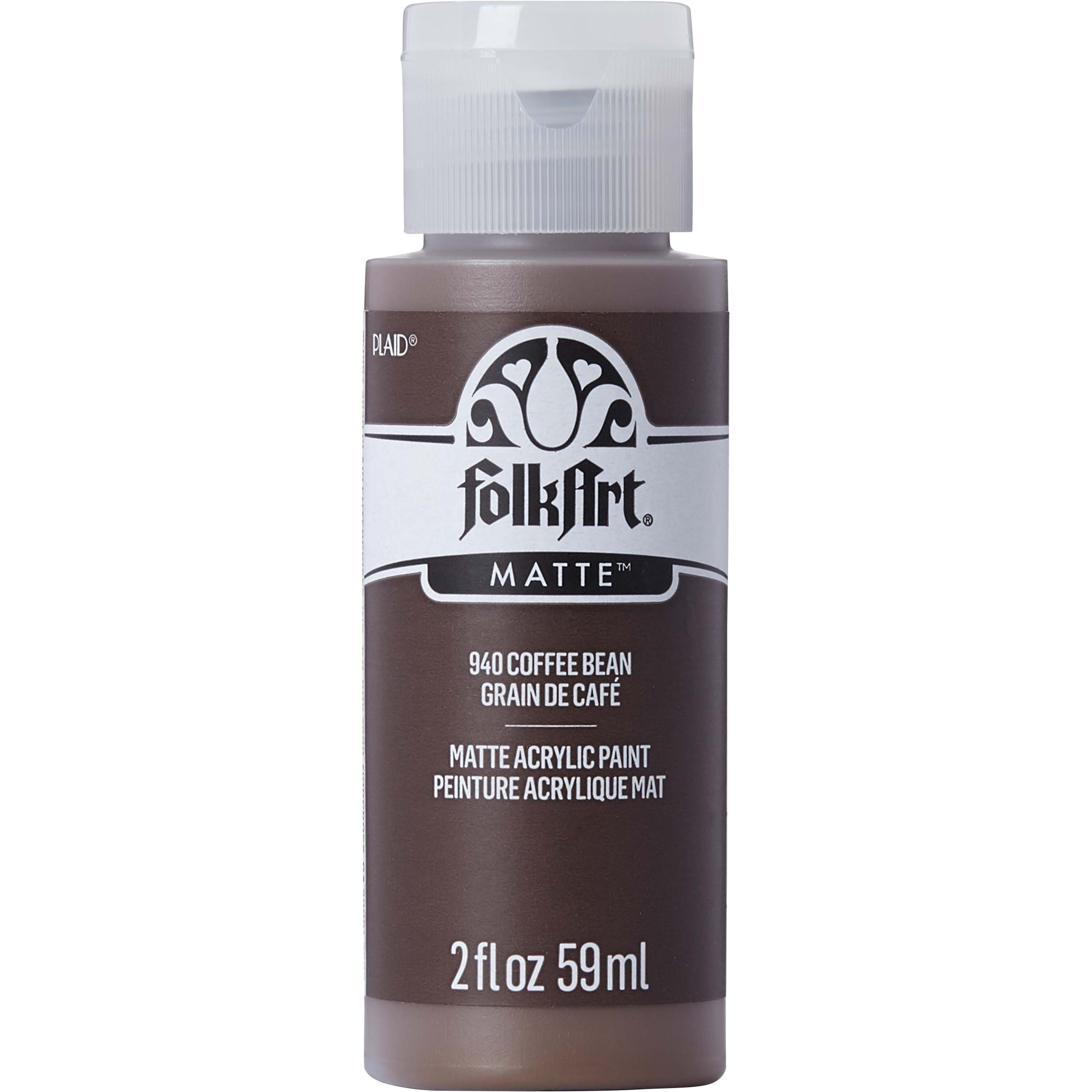 FolkArt ® Acrylic Colors - Coffee Bean, 2 oz. - 940