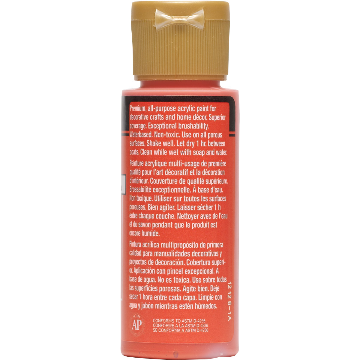 FolkArt ® Acrylic Colors - Orange Poppy, 2 oz. - 508