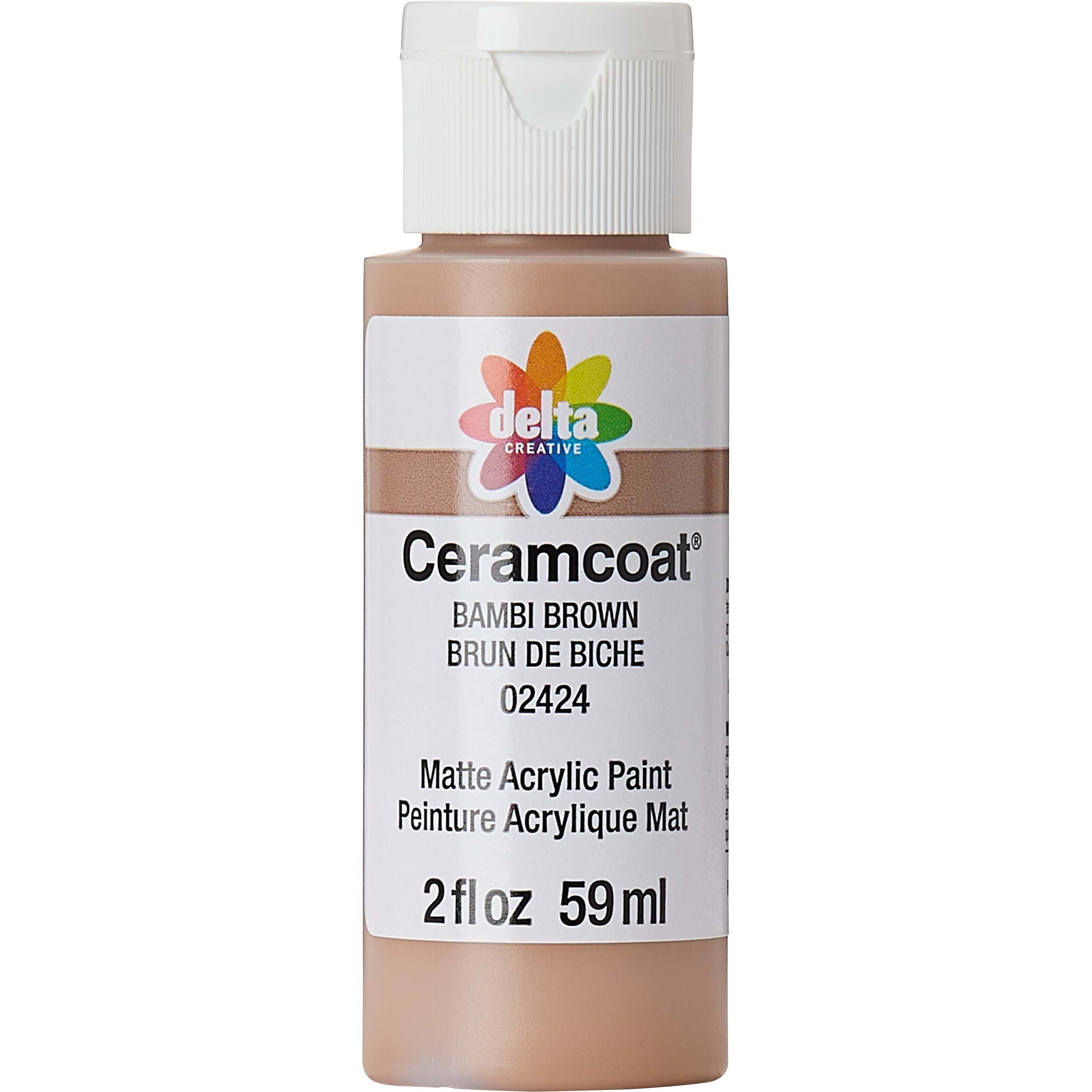 Delta Ceramcoat ® Acrylic Paint - Bambi Brown, 2 oz.