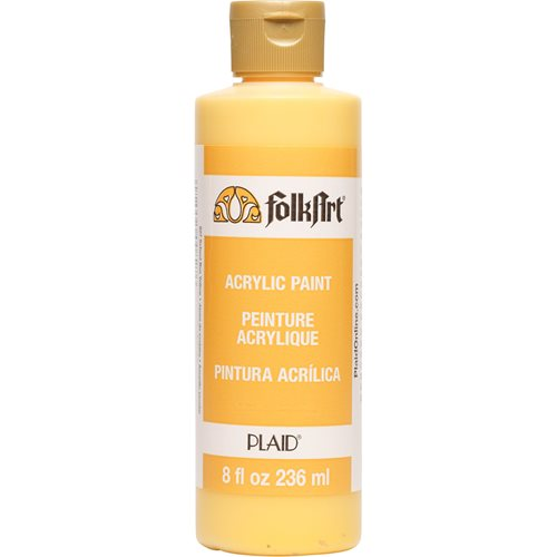 FolkArt ® Acrylic Colors - School Bus Yellow, 8 oz. - 827