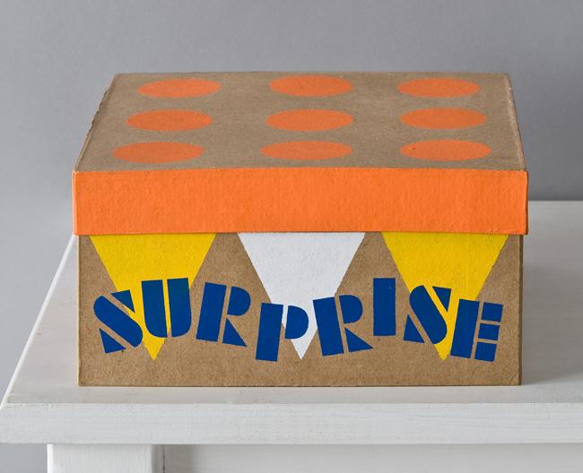 Handmade Charlotte Birthday Surprise Gift Box