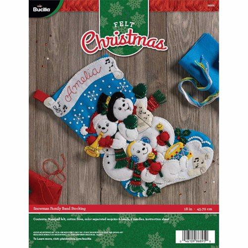 Needlepoint Christmas Stocking Kits.Bucilla Stocking Kits For Christmas Cross Stitch And Needle