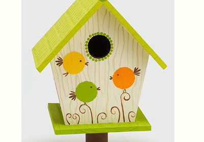 Roly Poly Birdhouse