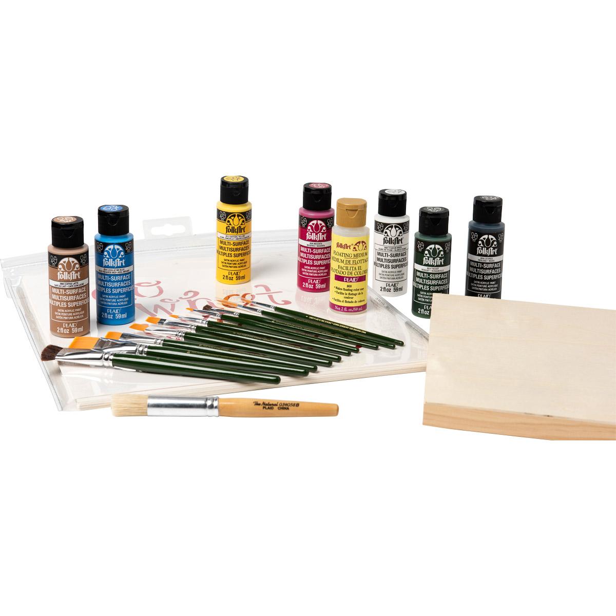FolkArt ® One Stroke™ Sign Making Kit
