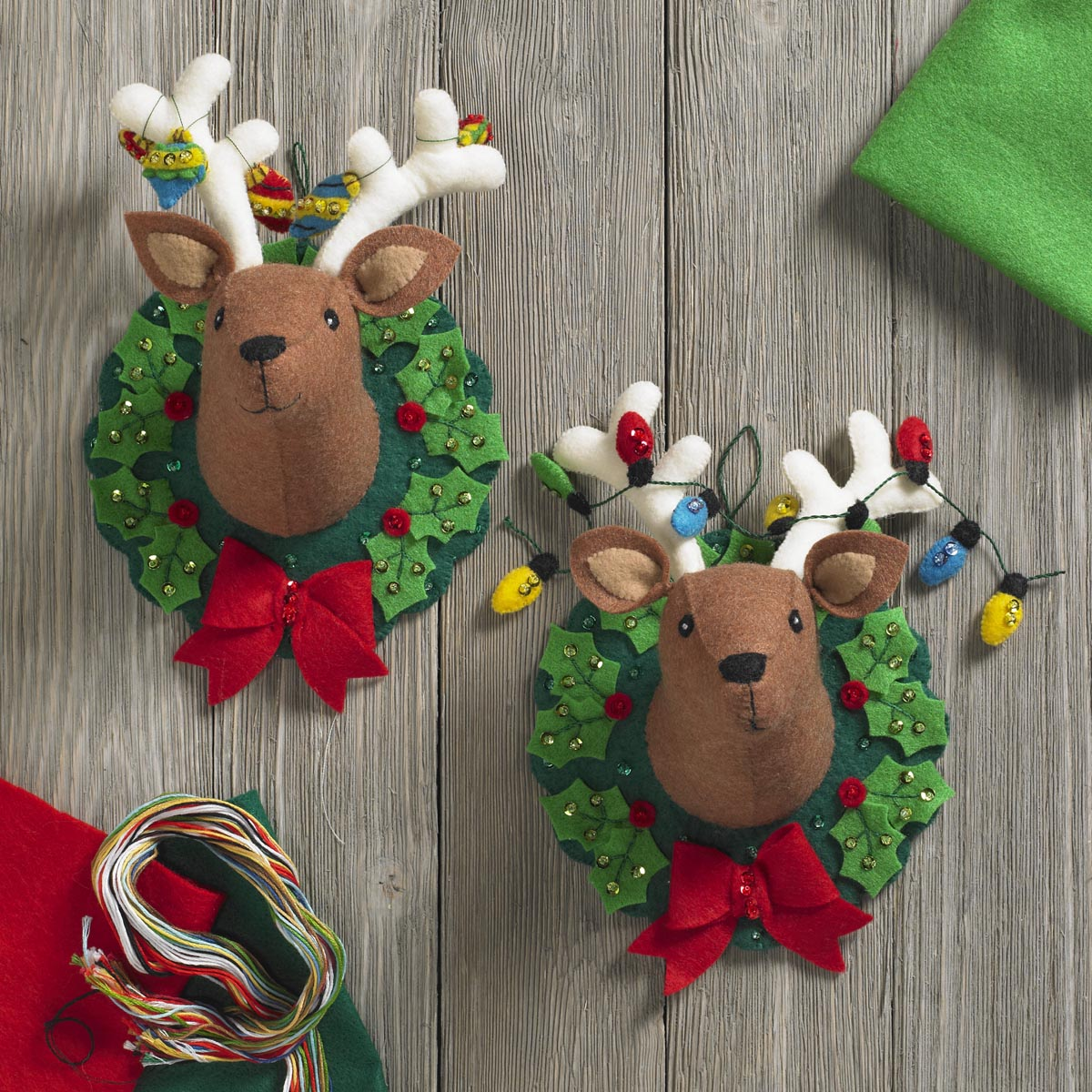 Bucilla ® Seasonal - Felt - Home Decor - Jingle and Belle 3D Wall Hanging