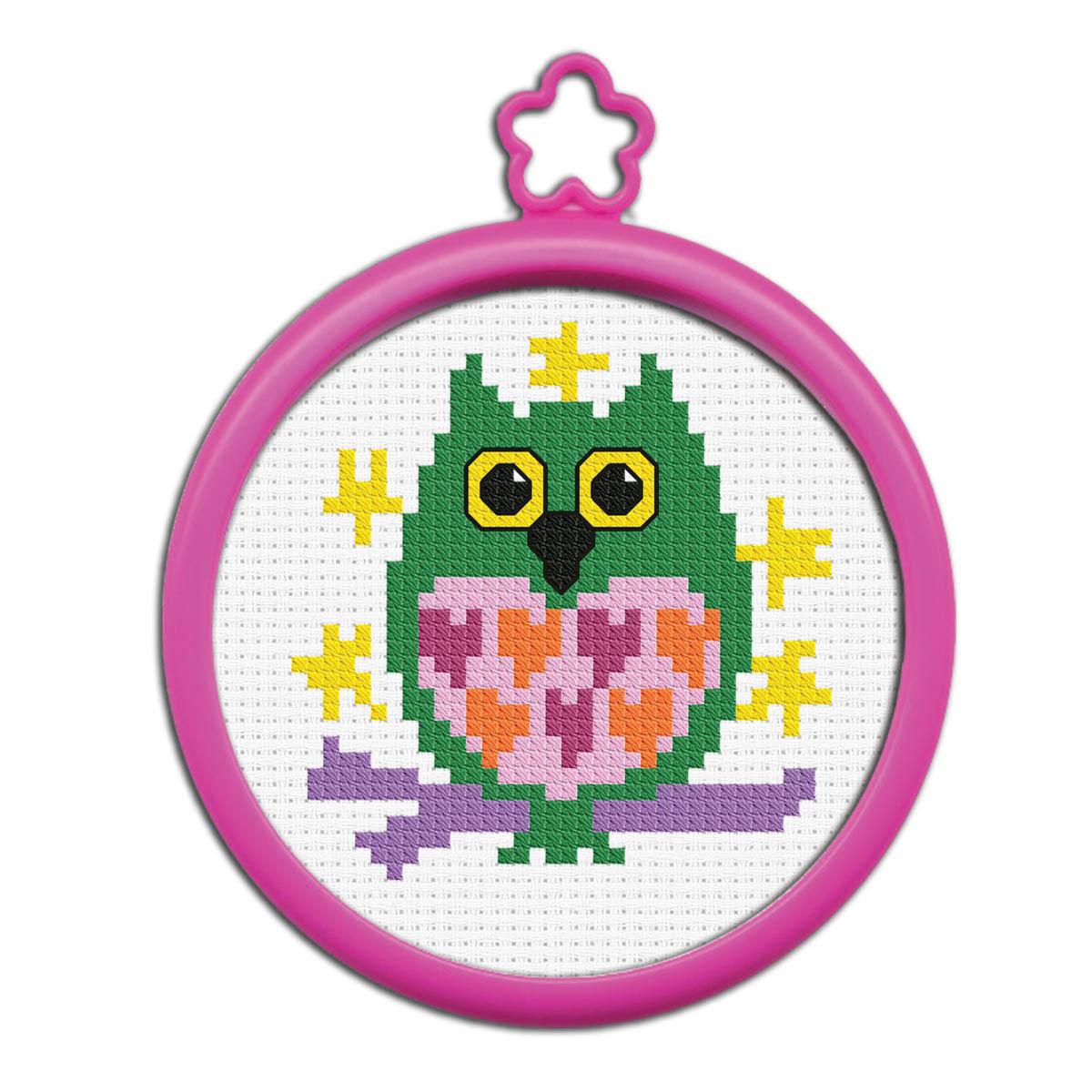 Bucilla ® My 1st Stitch™ - Counted Cross Stitch Kits - Mini - Owl