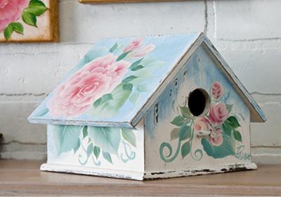 Shabby Chic Bird House