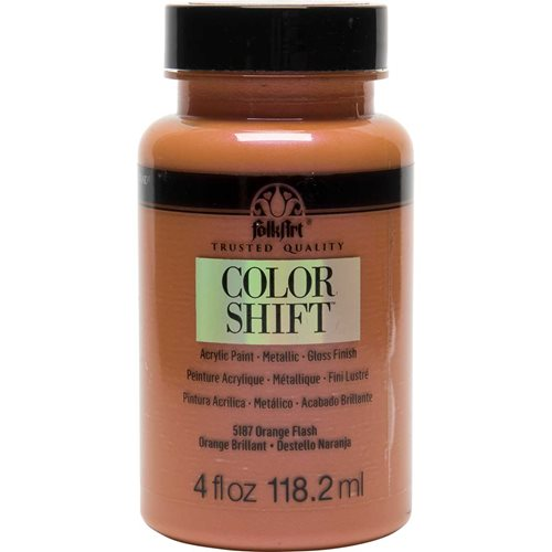 FolkArt ® Color Shift™ Acrylic Paint - Orange Flash, 4 oz. - 5187