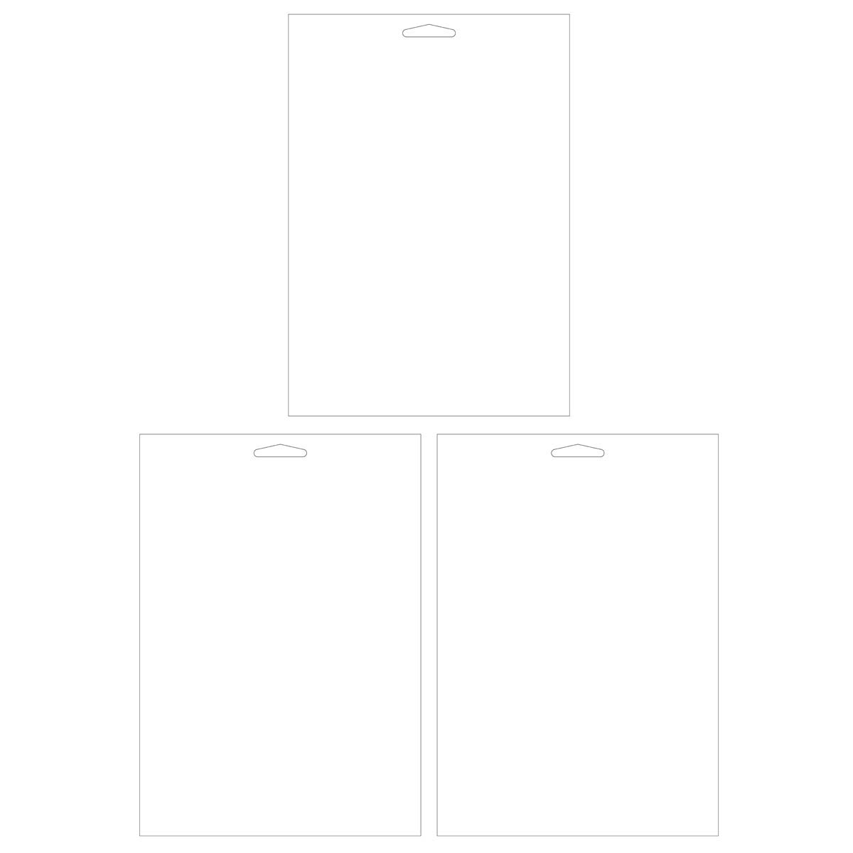 Plaid ® Craft Stencils - Value Packs - Blanks