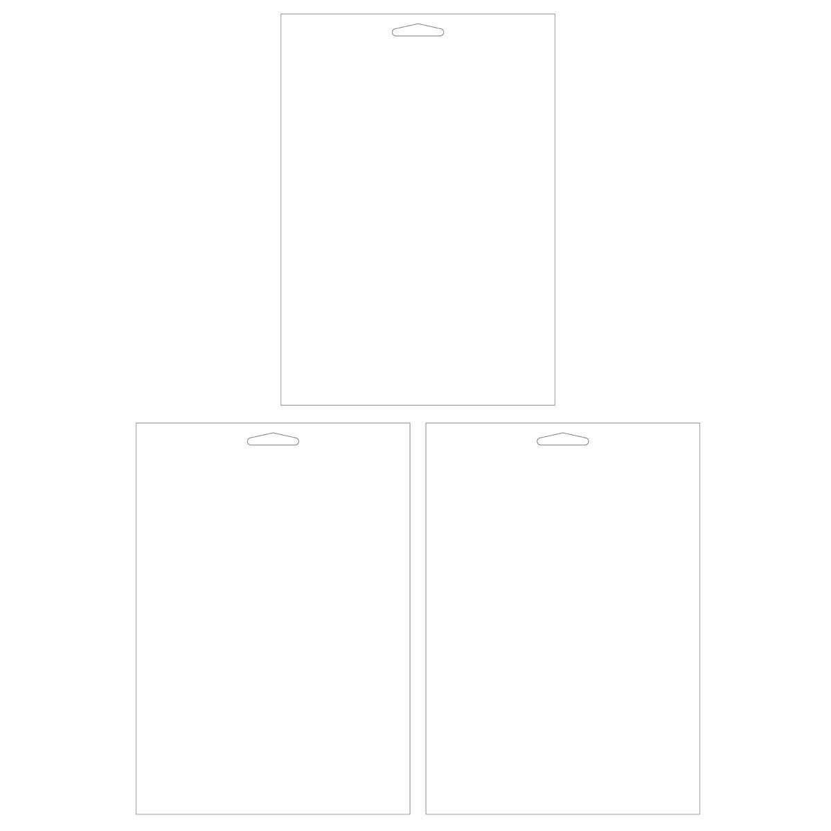 Plaid ® Craft Stencils - Value Packs - Blanks - 30502