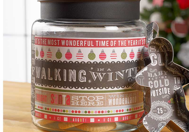 personalized cookie jar gift project plaid online