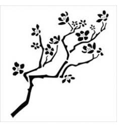 FolkArt ® Stencil1 ® Laser Stencils - Cherry Branch