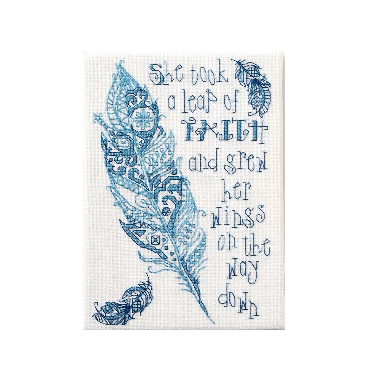 Bucilla ® Counted Cross Stitch - Picture Kits - Mini - Leap of Faith - 46045