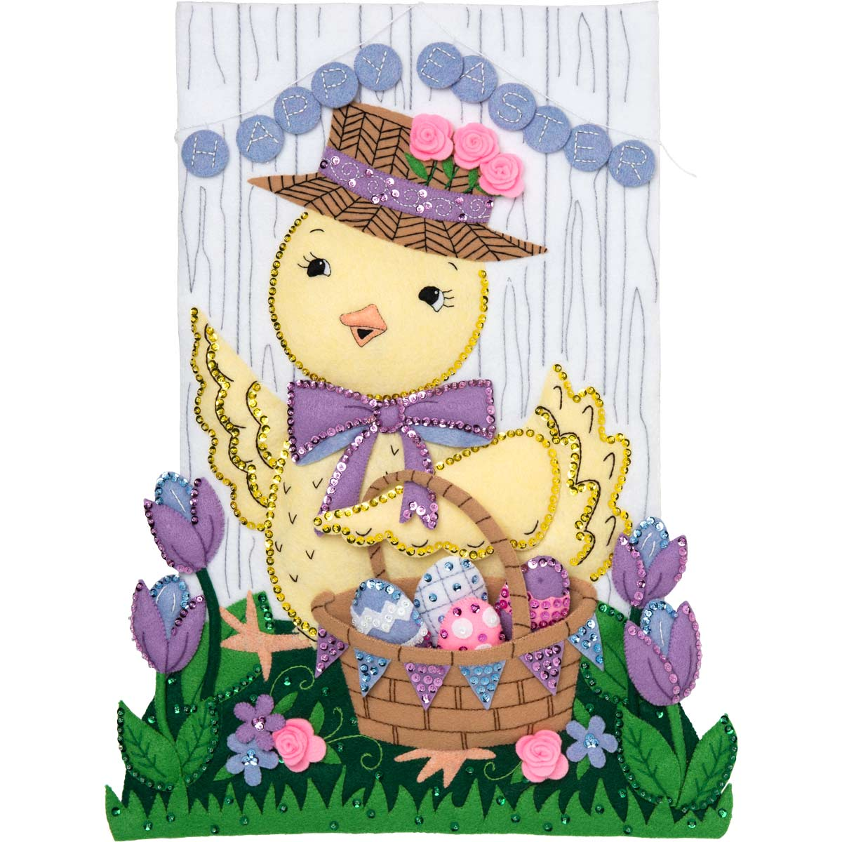 Bucilla ® Seasonal - Felt - Home Decor - Easter Wall Hanging - 86989E