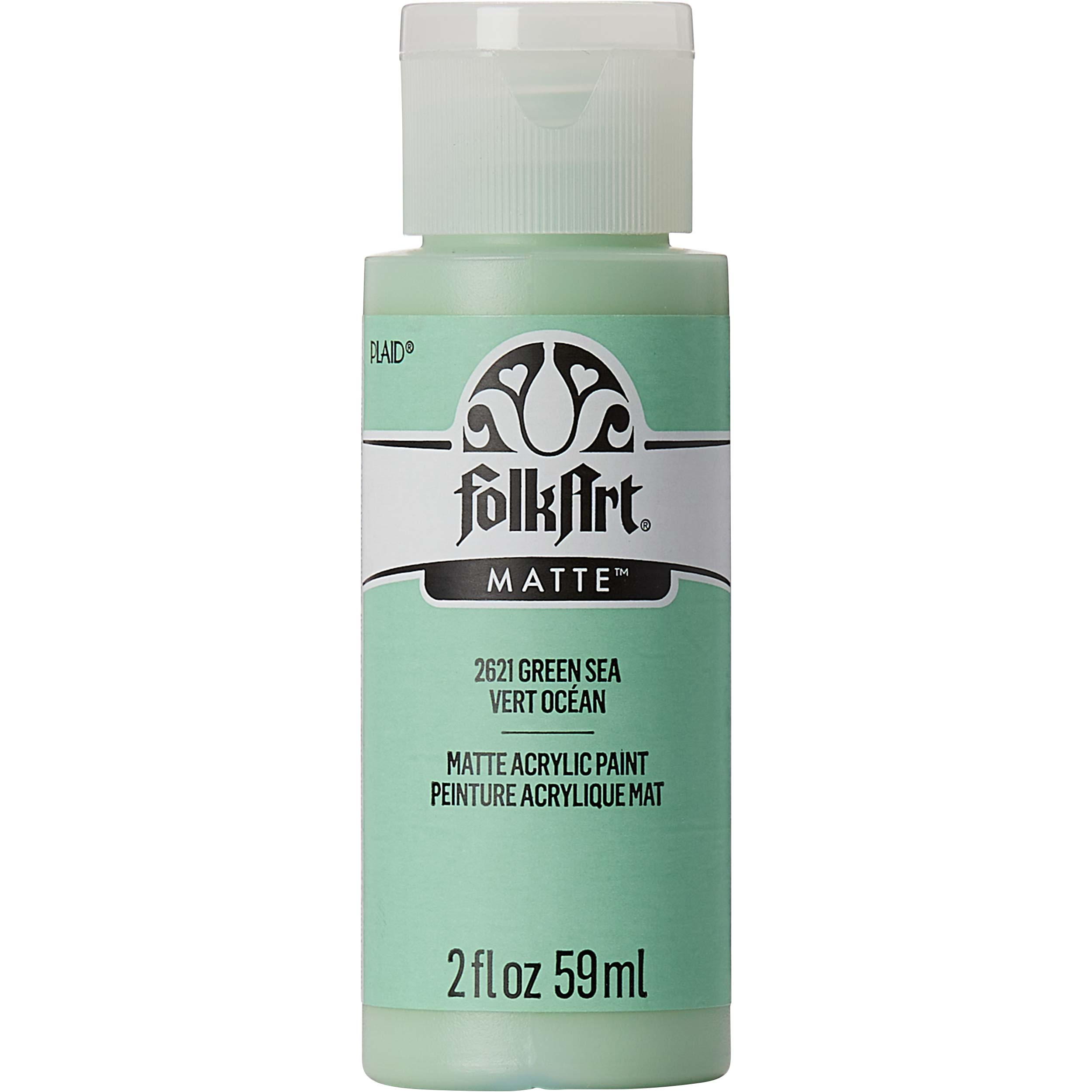 FolkArt ® Acrylic Colors - Green Sea, 2 oz. - 2621