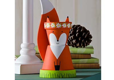 Clay Pot Fox