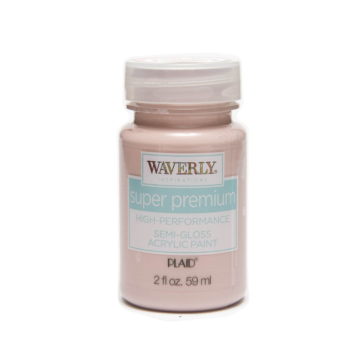 Waverly ® Inspirations Super Premium Semi-Gloss Acrylic Paint - Ballet Slipper, 2 oz. - 60604E
