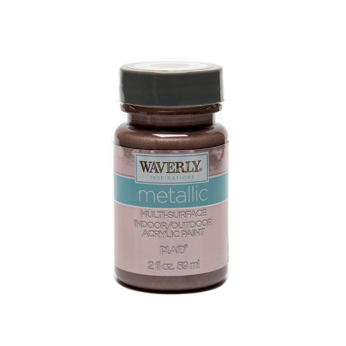 Waverly ® Inspirations Metallic Multi-Surface Acrylic Paint - Rose Quartz, 2 oz.