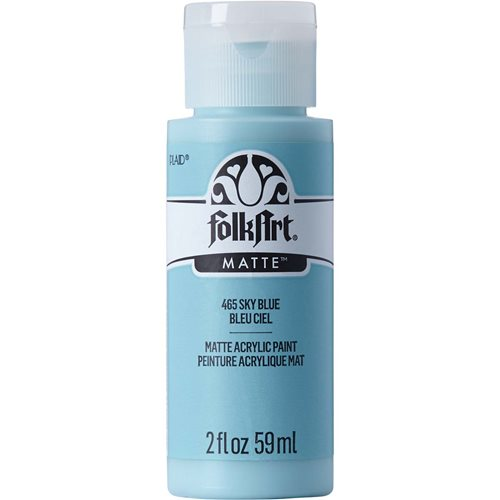 FolkArt ® Acrylic Colors - Sky Blue, 2 oz. - 465
