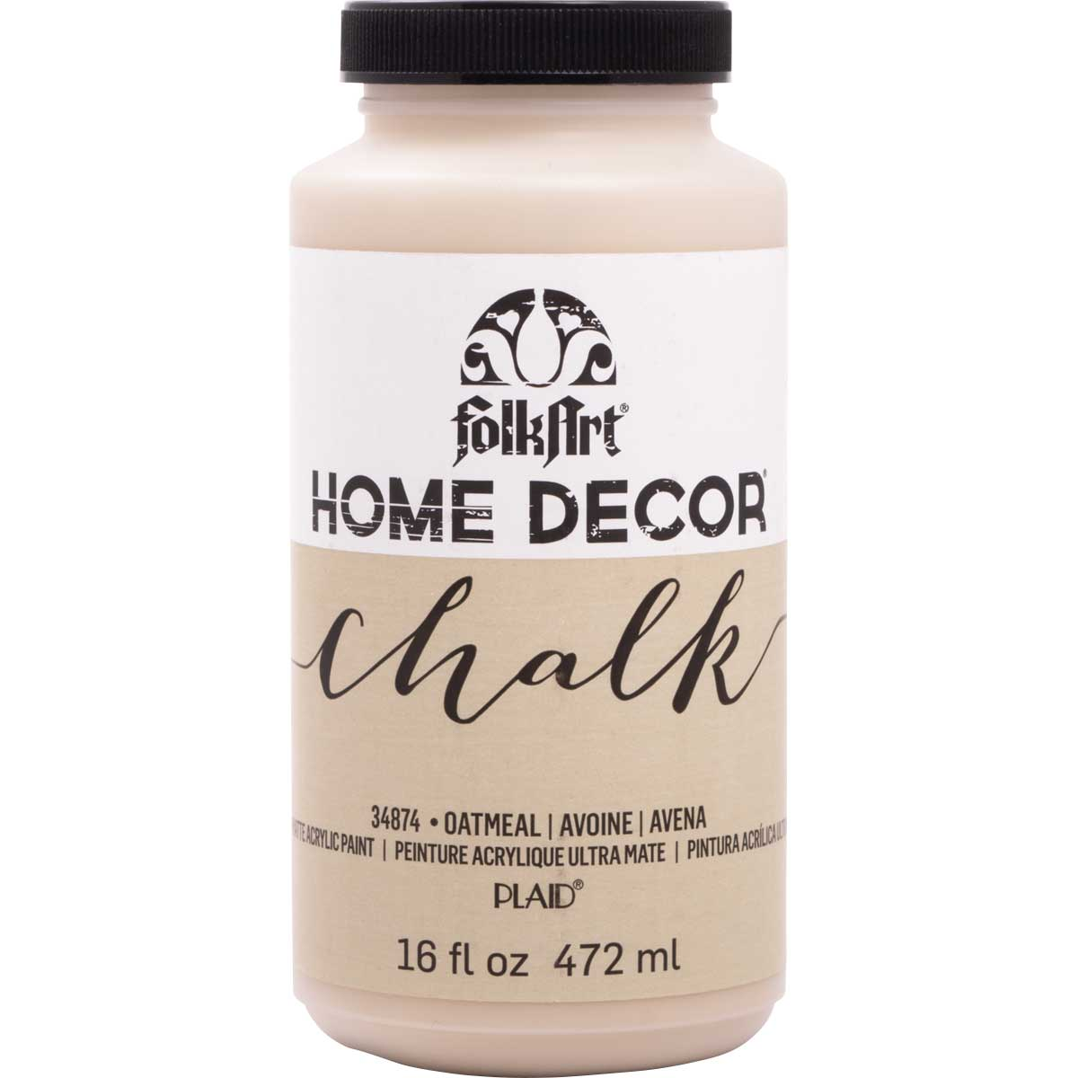 FolkArt ® Home Decor™ Chalk - Oatmeal, 16 oz. - 34874