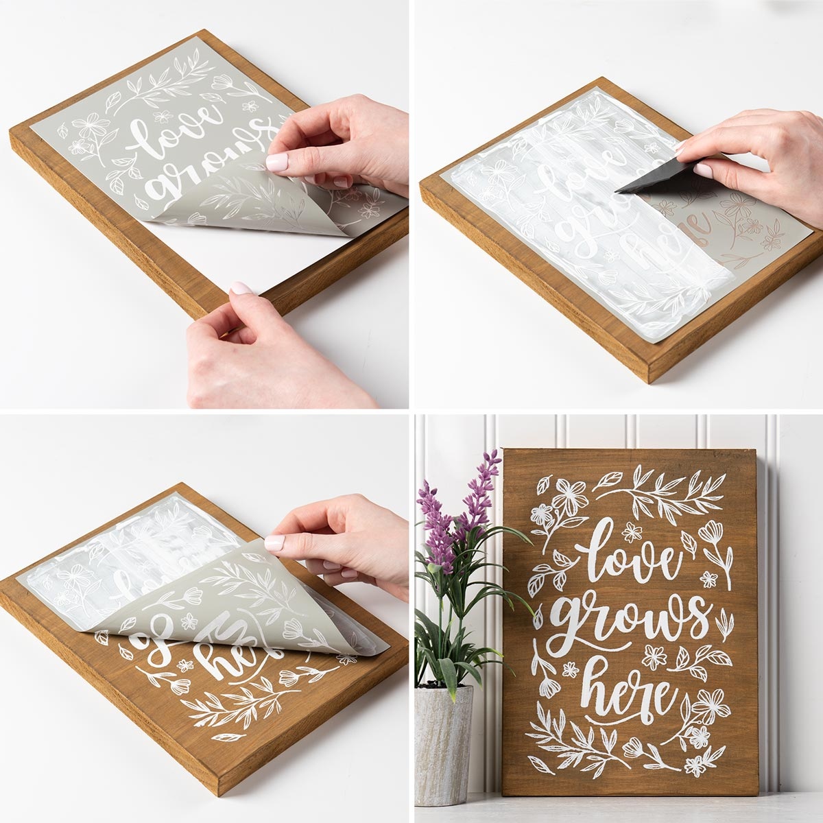 FolkArt ® Sign Shop™ Mesh Stencil - San Serif Letters - 63379