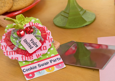 Christmas Cookie Swap Party- Invitation