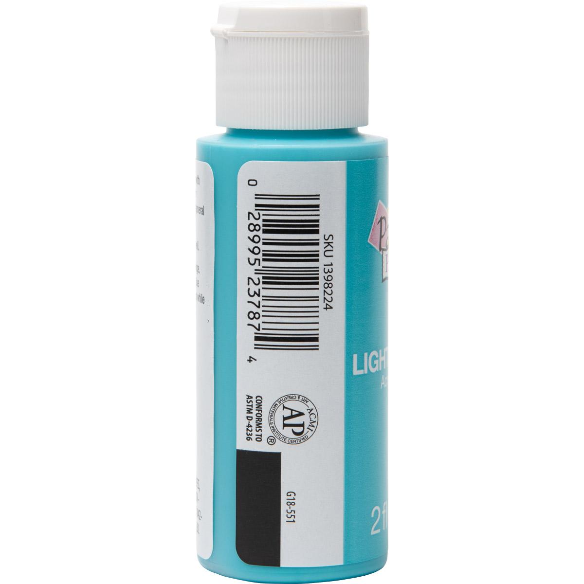 Plaid ® Painter's Palette™ Acrylic Paint - Light Turquoise, 2 oz.