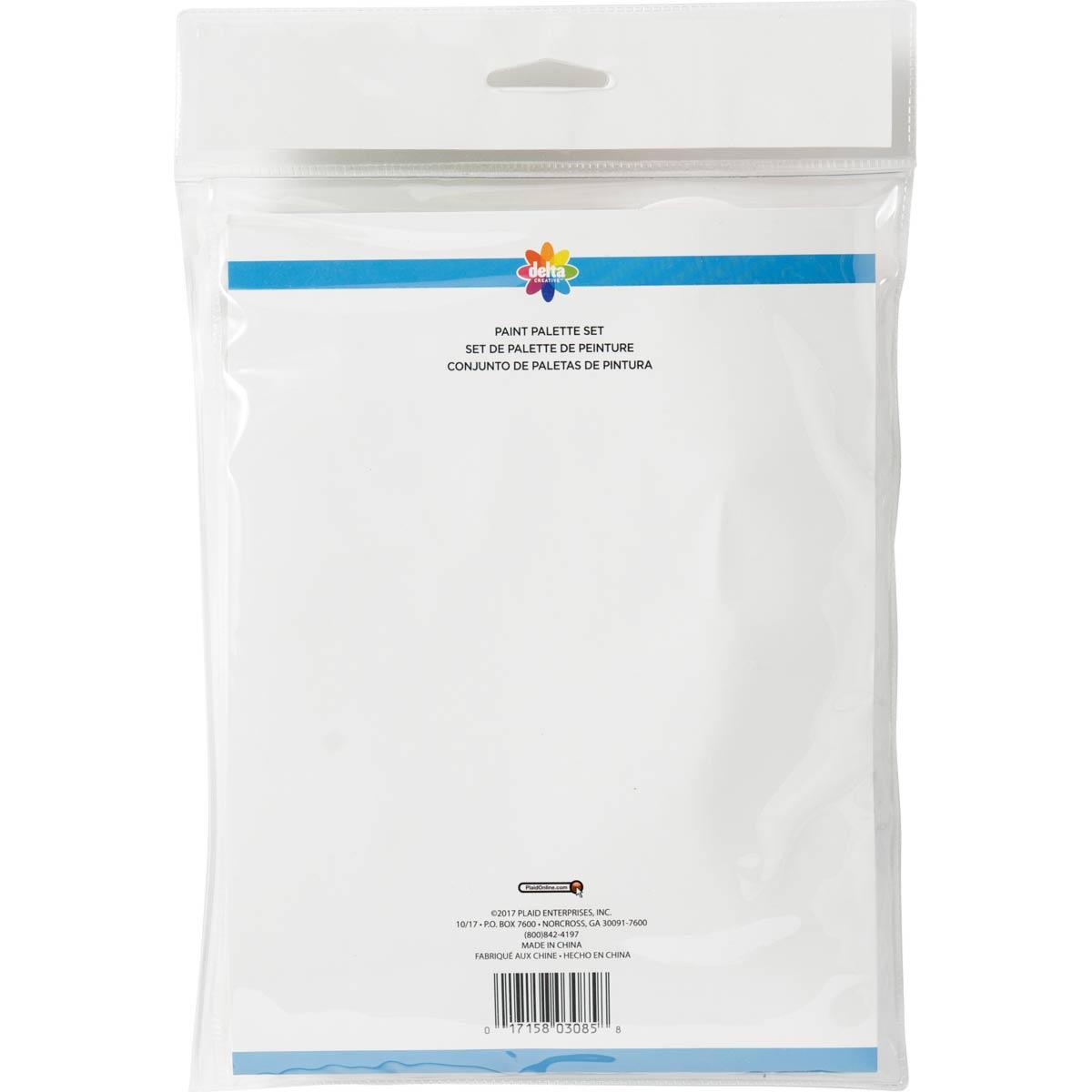 Delta Ceramcoat ® Tools - Palette Set, 3 pc.