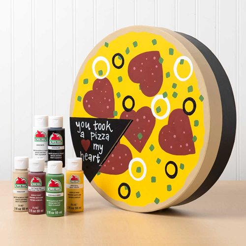 Pizza Valentine's Day Box