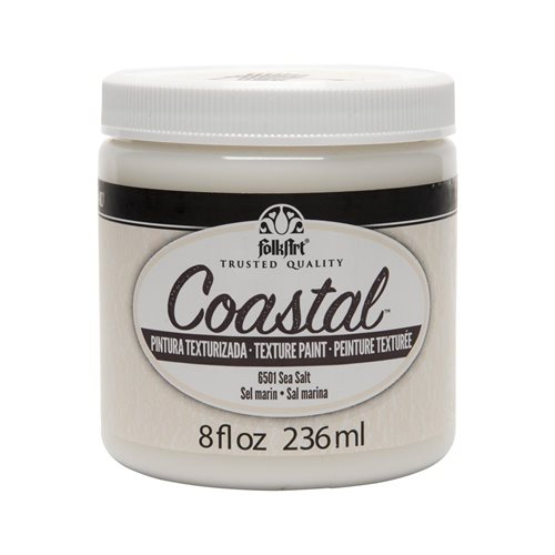 FolkArt ® Coastal™ Texture Paint - Sea Salt, 8 oz.