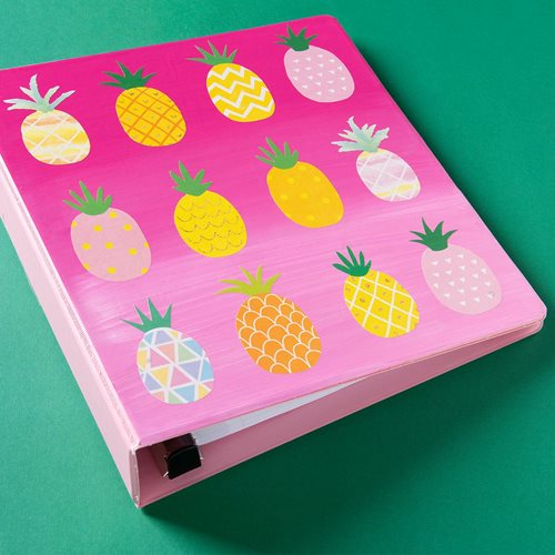 Pink Pineapple Notebook