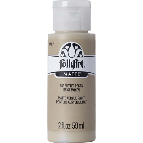 FolkArt ® Acrylic Colors - Butter Pecan, 2 oz. - 939