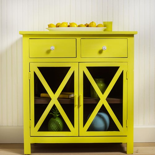 Yellow Lemon Cabinet
