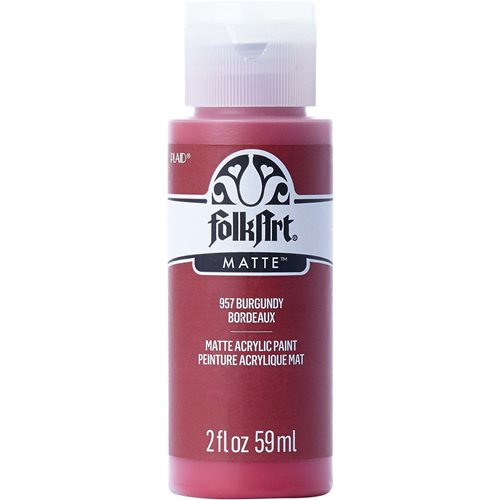 FolkArt ® Acrylic Colors - Burgundy, 2 oz. - 957