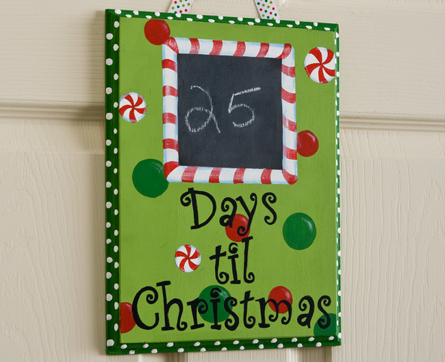 Countdown To Christmas Decoration Home Decorating Ideas