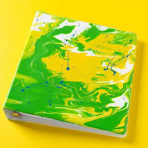 Marbled Binder