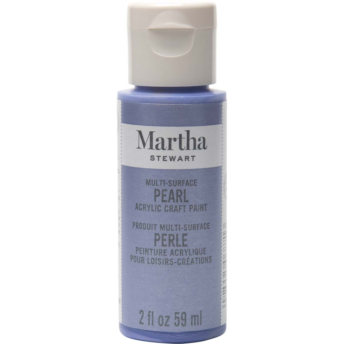 Martha Stewart ® Multi-Surface Pearl Acrylic Craft Paint - Twilight Blue, 2 oz.